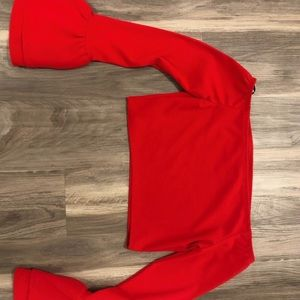 💃🏼 RED BELL SLEEVE TOP 💃🏼